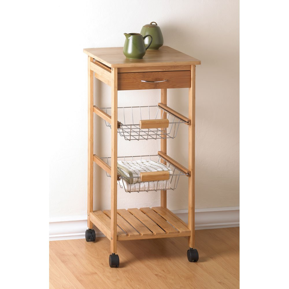 Amazon.com: Kitchen Cart: Home & Kitchen