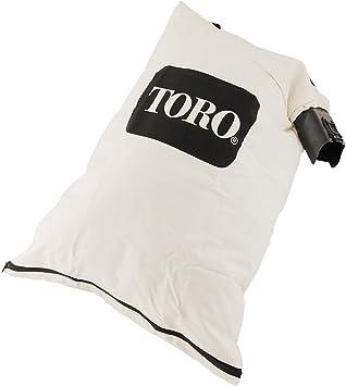 Amazon Com Genuine Oem Toro 127 7040 Blower Debris Vacuum Bag Replaces 108 8994 Fits 51436 51563 51581 51594 51599 51609 51619 51621 Garden Outdoor
