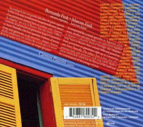 Barnarda & Marcos Fink - Canciones Argentinas (Piazzolla, Guastavino & Others)
