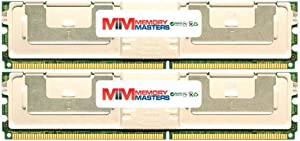 MemoryMasters Dell Compatible SNP9F035CK2/8G 8GB (2 x 4GB) PC2-5300 ECC Fully Buffered FBDIMM Memory for DELL PowerEdge 2900 III