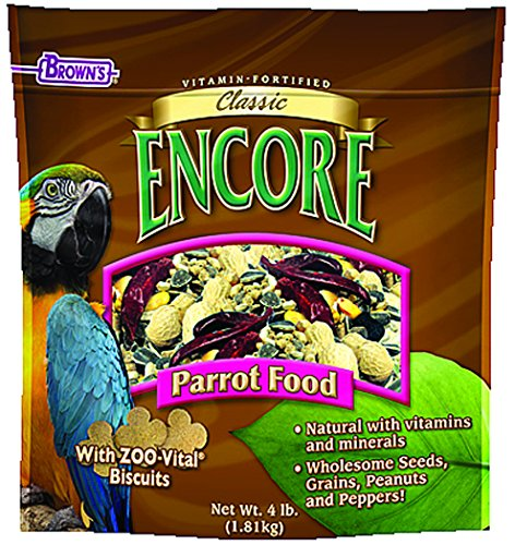 F.M.BROWN'S Encore Classic Natural Parrot Food, 4lb by F.M. Brown's