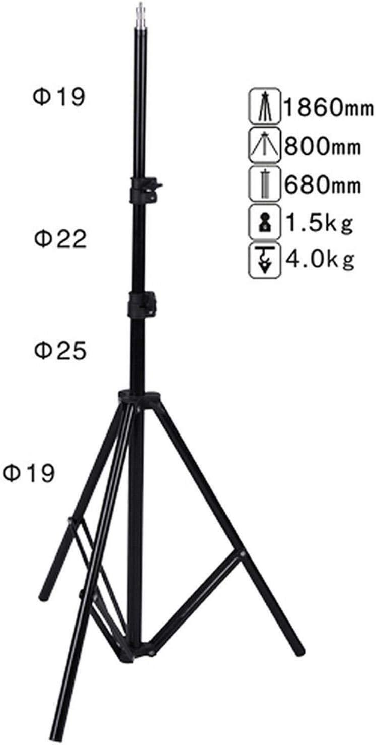 NICEFOTO Blitzhalter Durchlichtschirm 83cm Lampenstativ