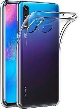 AICEK Funda Huawei P30 Lite, Transparente Silicona Fundas para ...