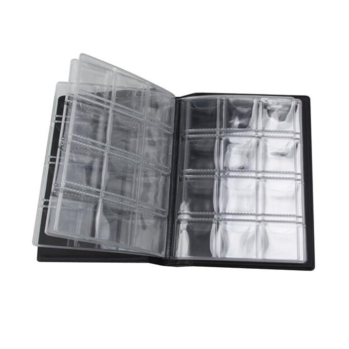 ... 120 Colección de titulares de Monedas + 40 Páginas de Papel Colección de titulares de Libro de Almacenamiento: Amazon.es: Juguetes y juegos