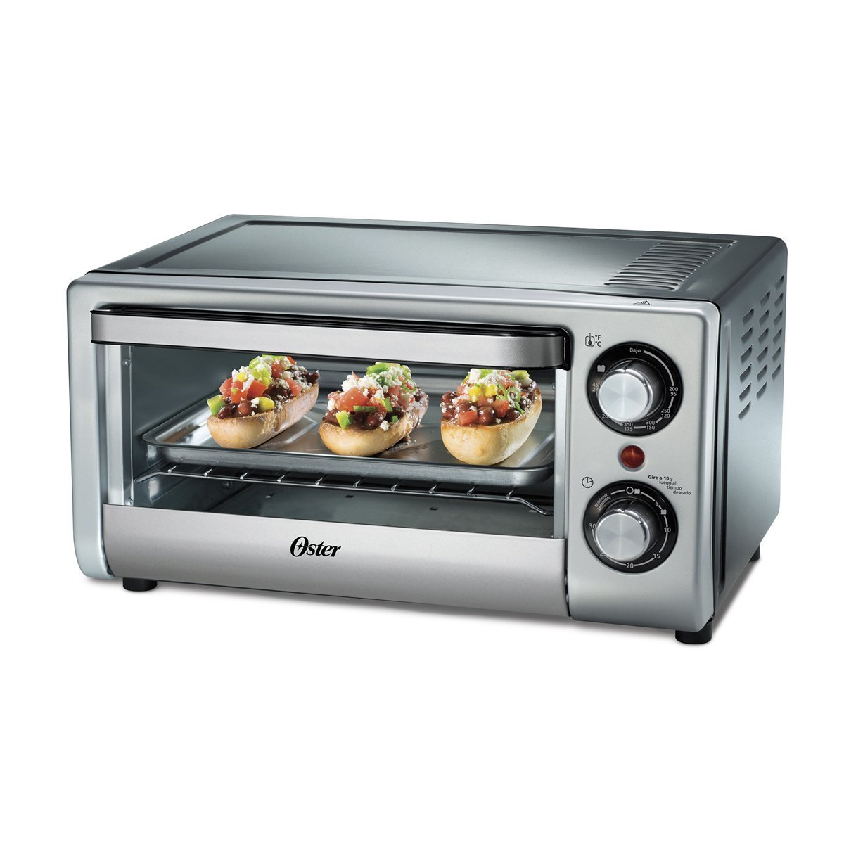 Oster TSSTTV10LTB 4 Slice Toaster Oven for 220 240 volt Will not work in USA