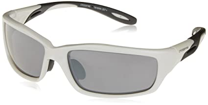 fe630ca2e Image Unavailable. Image not available for. Color: Crossfire 2243 Infinity  Safety Glasses Silver Mirror Lens - Pearl White Frame