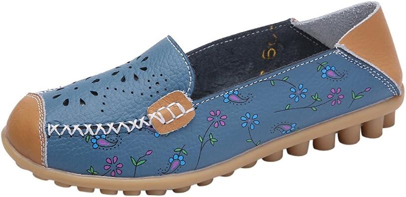 Mocassins Pour Femmes Enfiler Des Chaussures De Sport Chaussures De Conduite