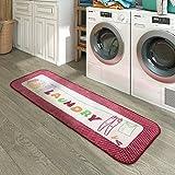 Lifewit Laundry Runner Rug Decorative Non-Slip