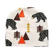 Tuscom New Toddler Kids Girls Boys Baby Infant Winter Warm Crochet Knit Hat Beanie Cap (Coffee)