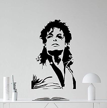 Amazon.com: Michael Jackson Wall Decal Moonwalker Poster Print King ...