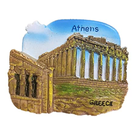 Amazon.com: Parthenon Temple Athens Greece Hellas Aegean Sea Resin 3D Strong Fridge Magnet Souvenir Tourist Gift Chinese Magnet Hand Made Craft Creative ...