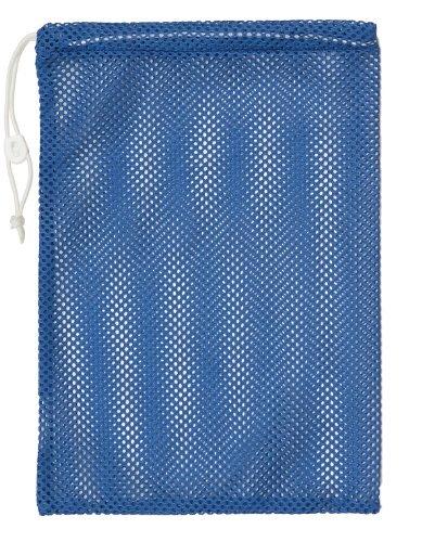 Champion Sports Mesh Equipment Bag (Blue, 12 x 18-Inch)