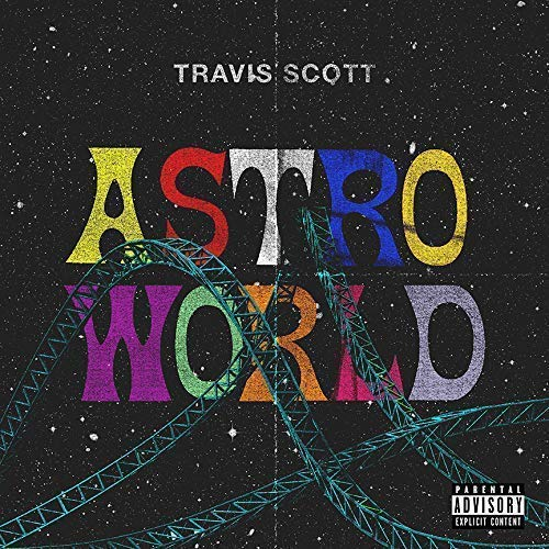 chronical collection Album Cover astroworld 12 x 12 Inch Rolled Poster