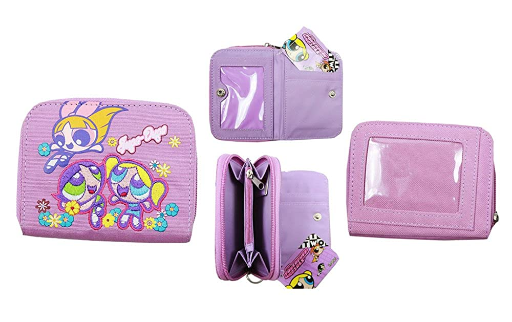 d3e35631a01 The Powerpuff Girls Blossom Bubbles & Buttercup Zipper Wallet at Amazon  Women's Clothing store: