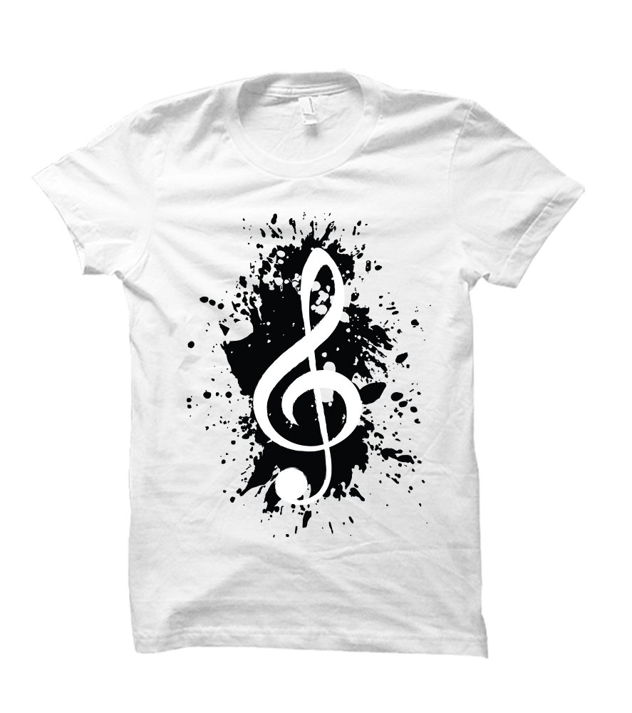 Party Explosions Music Lover Themed Adult Shirts