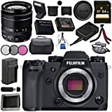 Fujifilm X-H1 Mirrorless Digital Camera (Body Only) 16568731 XF 18-55mm f/2.8-4 R LM OIS Zoom Lens 16276479 Bundle