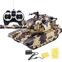 IBalody Simulación alemana 2.4GHz RC Batalla principal Tanques