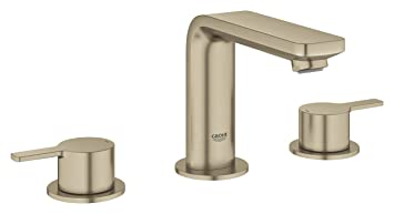 Grohe 20578ena Lineare 8 Widespread Two Handle Bathroom Faucet