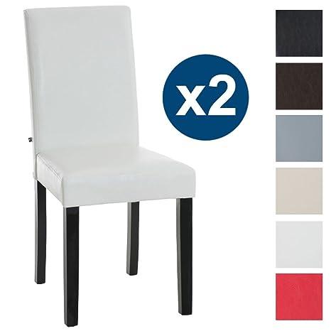 CLP 2 sedie moderne da cucina/sala da pranzo INA, con telaio in ...