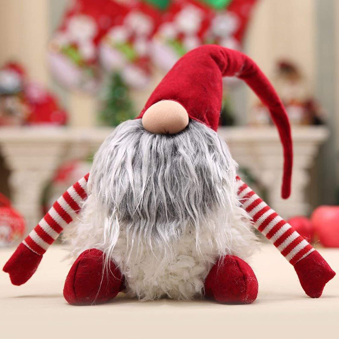 01dee7940266 VIGE Cartoon Christmas Gift Gift Gift Faceless Babbo Natale Bambola Nana  Peluche Decorazioni di Natale Decorazioni per la casa Speciale Fascino per  i ...