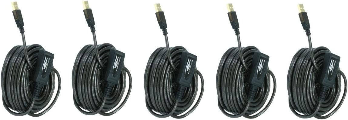 CNE606996 2 PCS 10M USB 2.0 A Male to A Female Active Extension Repeater Cable 32 Feet