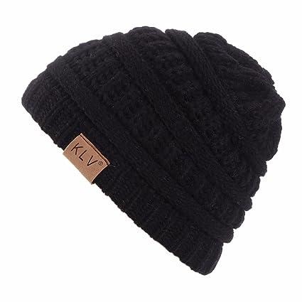 squarex Mütze für Jungen und Mädchen, warm, gehäkelt, Winterwolle, Ski-Beanie mit Totenkopf-Mütze