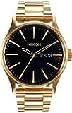 NIXON(ニクソン)腕時計 Sentry メンズ A356-510 All Gold/Black a356510 [並行輸入品]
