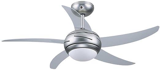 31 opinioni per Vinco 70911 Ventilatore da soffitto 106 cm- 5 pale- 1 luce- 3 velocità- con