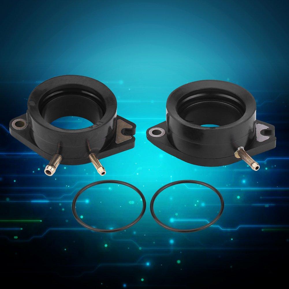 2 piezas carburador carburador colector de admisi/ón botas conjunta para Yamaha 81-86 XV750 Virago 88-99 1100 XV1100