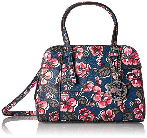 GUESS Huntley Floral Small Cali Satchel, Floral Multi