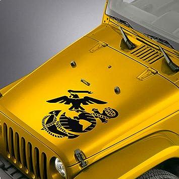 Jeep Wrangler TJ LJ JK The Punisher Vinyl Hood Decal Sticker Car Truck