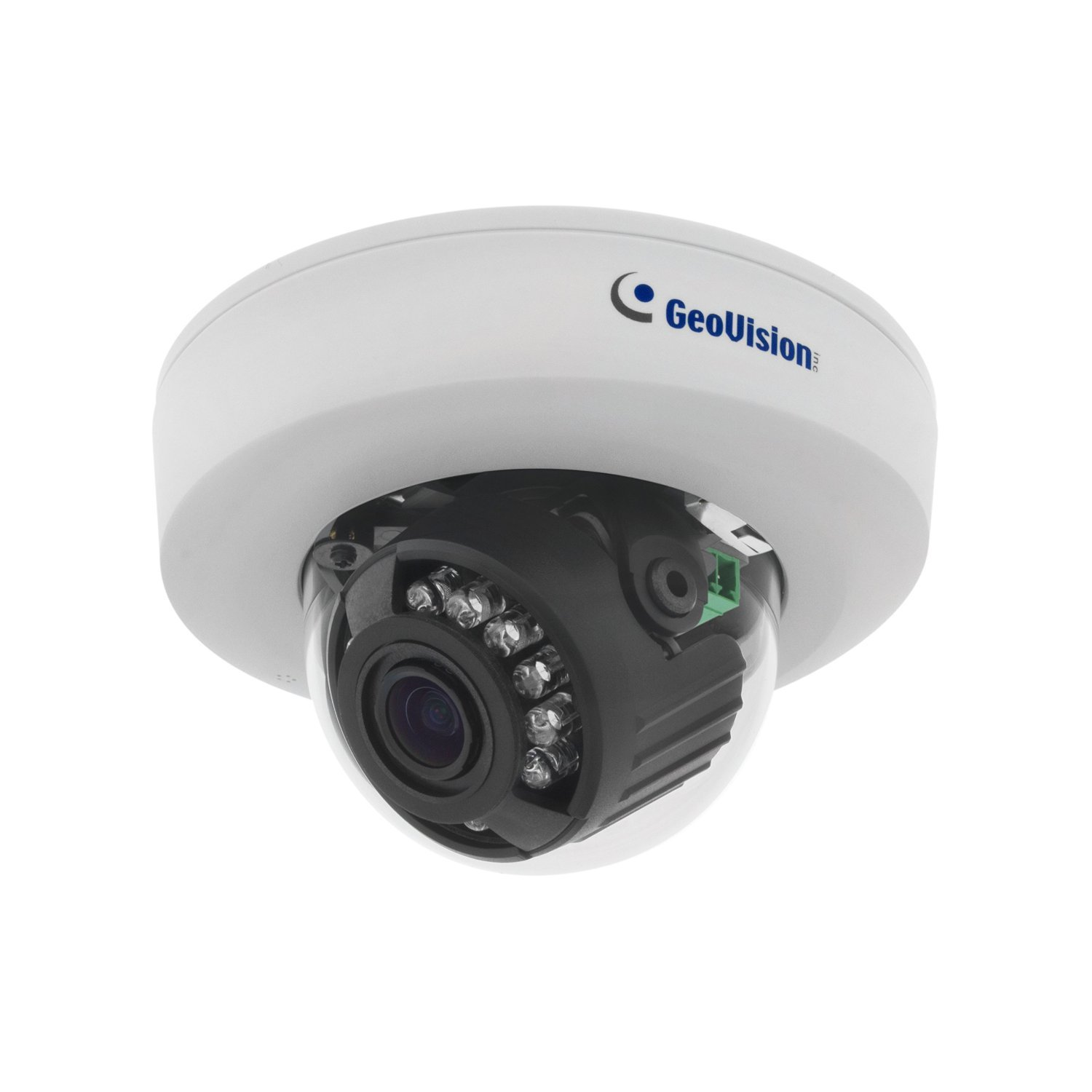 Geovision GV-EFD2100-0F 2MP H.264 Low Lux WDR IR 2.8mm Mini IP Dome Camera (White) [並行輸入品] B019SZA4W6