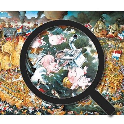 Heye Puzzle In Scatola Triangolare Ryba Trafalgar 2000 Pezzi Vd 29795