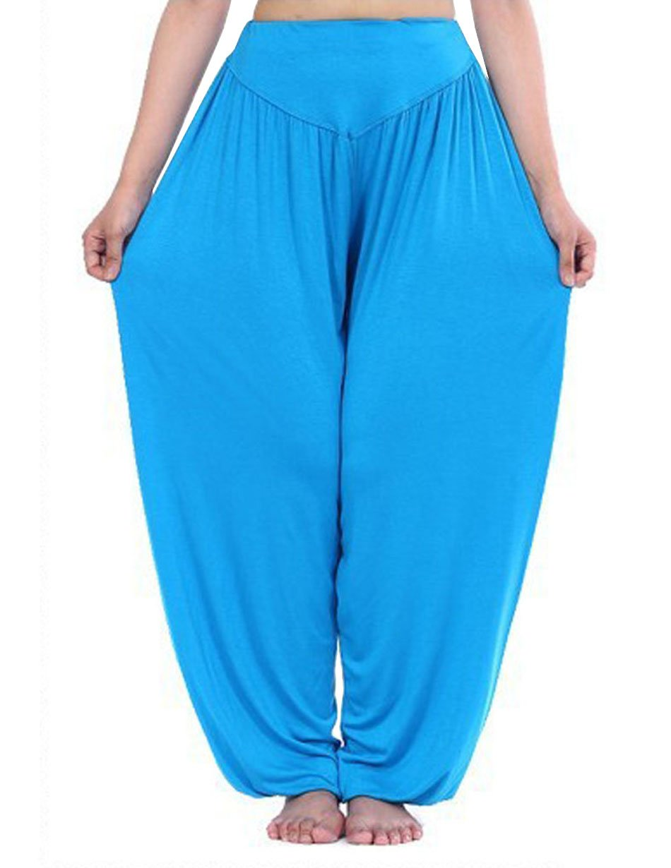 Hoerev Brand Super Soft Modal Spandex Harem Yoga Pilates Pants HOEREV®