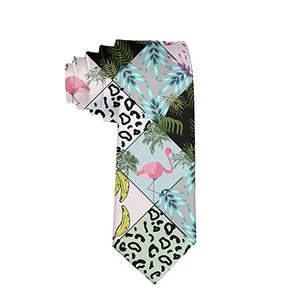 Casual Mens Tie Necktie Gift Skinny Neckties Skinny Long Ties for Meeting