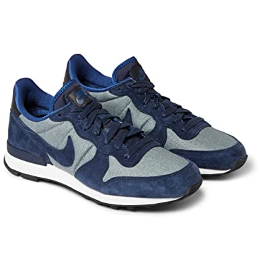 huge discount 866c4 a9796 NIKE Internationalist Premium Suede-Trimmed Sneakers  Amazon.co.uk  Shoes    Bags