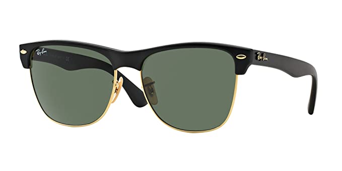 98fc78ef2 Image Unavailable. Image not available for. Color: Ray-Ban RB4175 877  Clubmaster Oversized Black ...