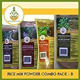 Shastha Rice Mix Powder Combo Pack B (Contains 12 Pkts) Shastha (Mudakkathan, Drumstick Leaves, Ponnanganni Leaves & Thoodhuvalai) Rice Mix Powder (Each Pkt 200 Gms) T-B