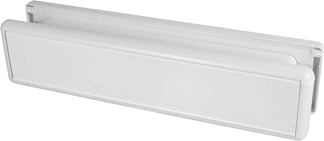 Fixings 10 Front Door Spring Shut Letter Box Plate