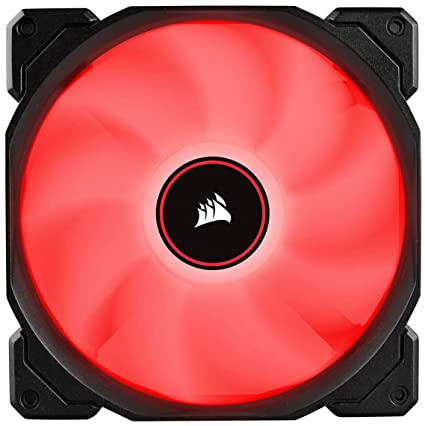 VENTI. CAJA CORSAIR AF140 LED ROJO LOW NOISE DUAL PACK CO-9050089 ...