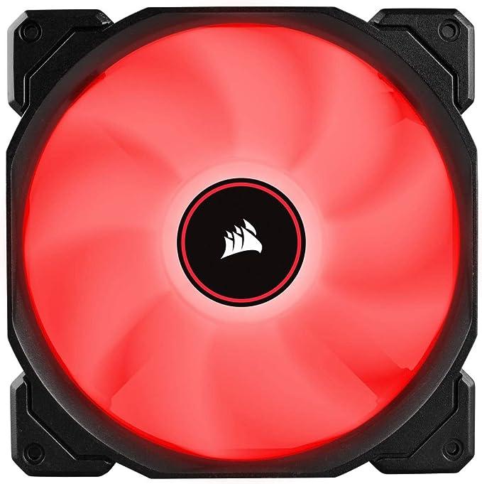 VENTI. CAJA CORSAIR AF140 LED ROJO LOW NOISE DUAL PACK CO-9050089-WW CORSAIR CO-9050089-WW, CARCASA DEL ORDENADOR, VENTILADOR, 14 CM, 1150 RPM, 26 DB, 62 CFM: Amazon.es: Informática