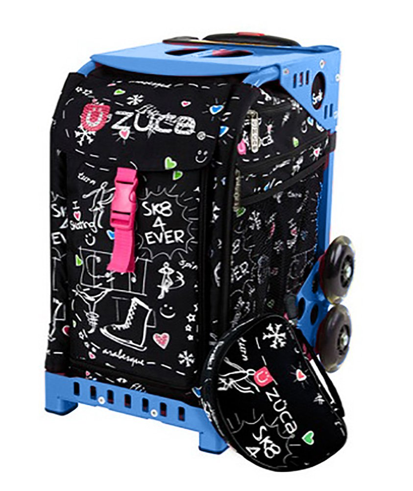 Amazon.com: zuca Bolsa Negro SK8 Edición Limitada: Sports ...