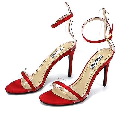 942f3119b Amazon.com  LUCKY CLOVER-A Sexy High Heels Sandals Womens High Heels ...