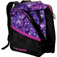 Transpack XTW Ski Boot Bag (Purple Topo)