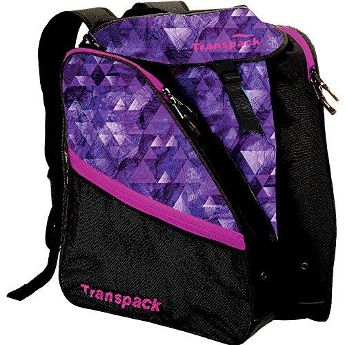 Transpack XTW Ski Boot Bag (Purple Topo)