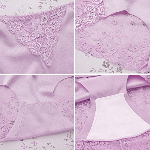 31037229a5a Jual LROCEN Womens Lace Underwear Hipster Panties