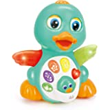 Huile Musical Light Up Dancing Duck 808D- Infant, Baby and Toddler Musical and Educational Toy for Boys and Girls…