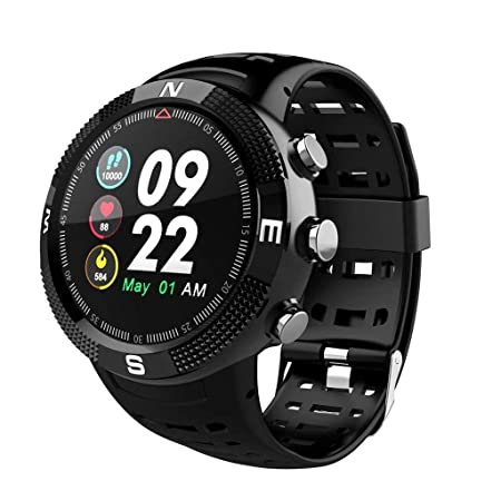 QUANOVO Reloj Inteligente, Impermeable F18 Smartwatch IP68 ...