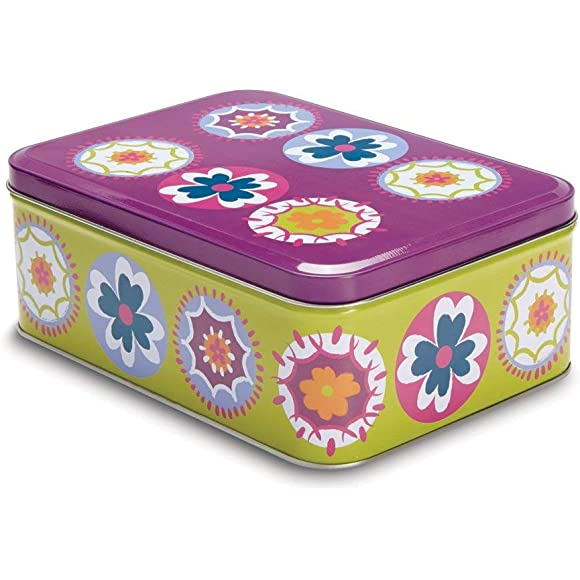 Suzani Kitchen Storage Tin