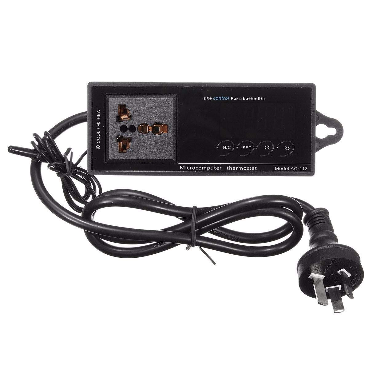 220V Digital Thermostat Temperature Controller Socket for Reptile Aquarium Tank by Unknown (Image #5)